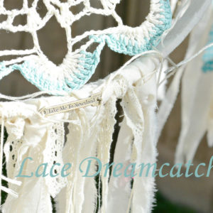 How to Make a Vintage Lace Dream Catcher within $15