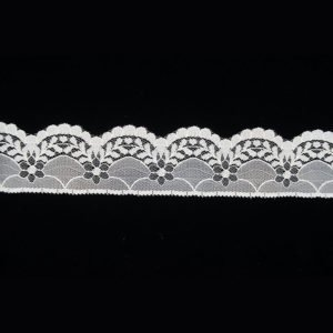 White French Tulle Wave Lace Trim 1