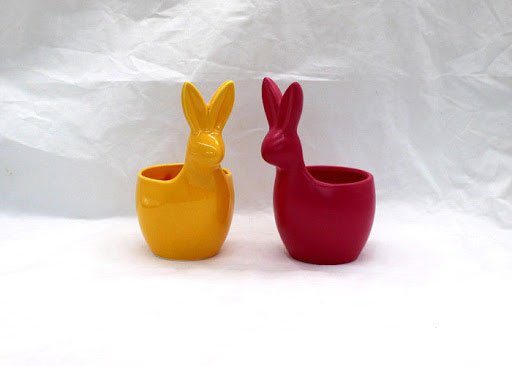 Easter Bunny Vases