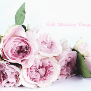 15 DIY Silk Flower Wedding Bouquet You Can Make by Yourself in 30 Minutes