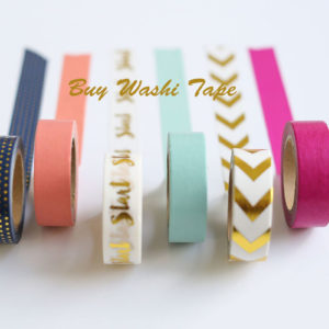 10 Best Places You Can Buy Great and Cheap Washi Tape in 2018