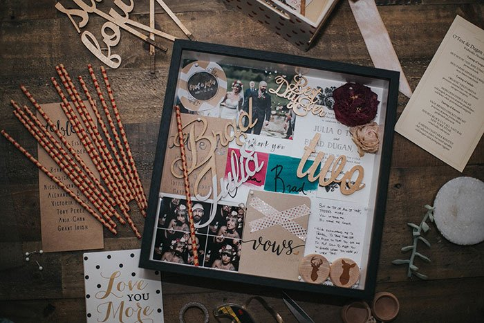Washi Tape Shadowbox