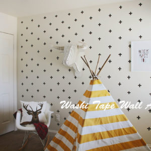 15 Washi Tape Wall Art Ideas You Can Choose for Home Décor