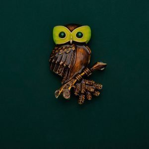 owl brooches
