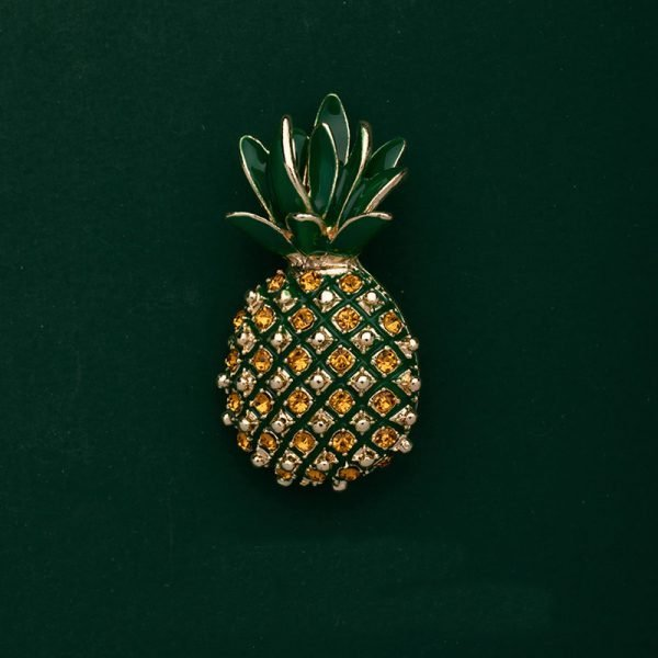 pineapple brooches