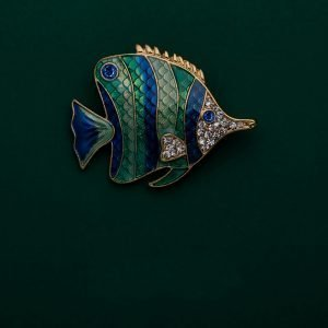 tropical fish brooches