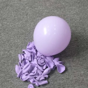 Macaron Single Purple Balloon