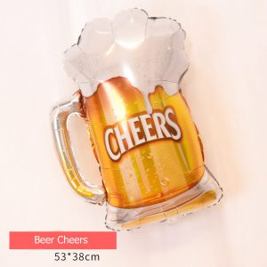 Beer Cheering Foil Balloon