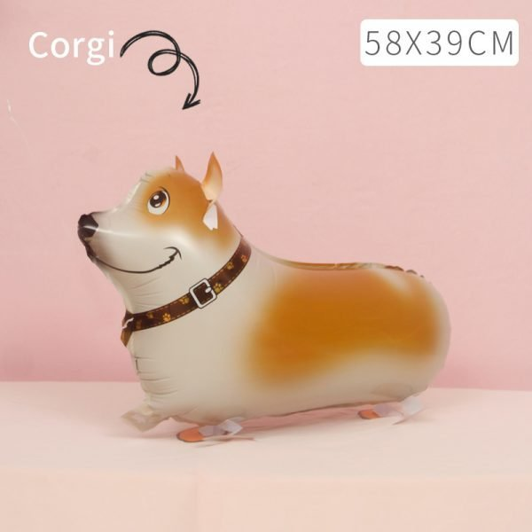Corgi Walking Balloon