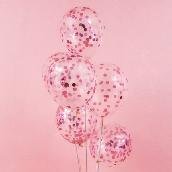 pink-confetti-latex-balloon