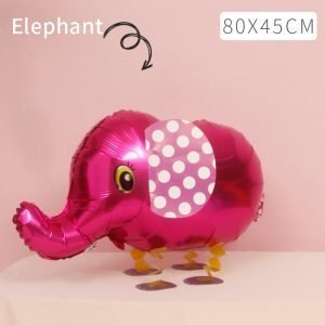 Red Elephant Walking Balloon