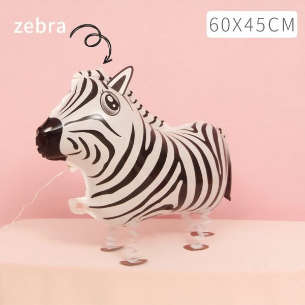 Zebra Walking Balloon